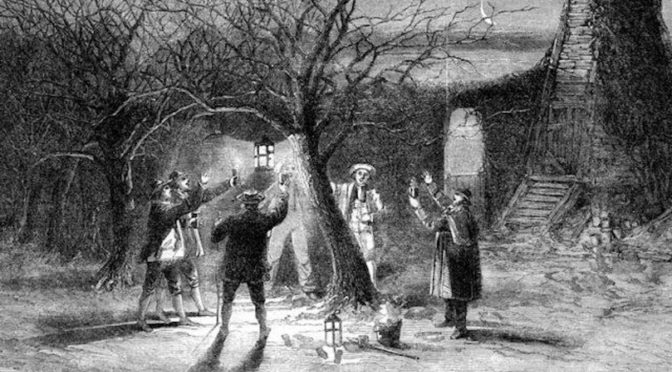 Time to come a'wassailing