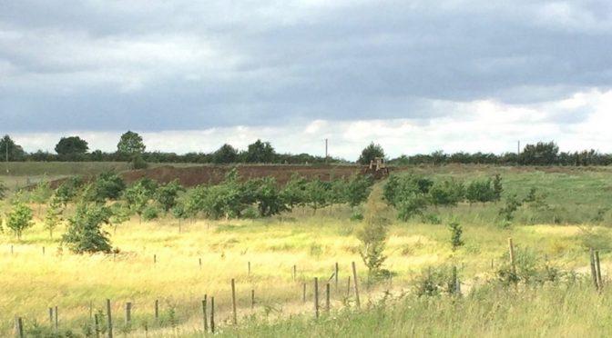 Bulldozers on reserve